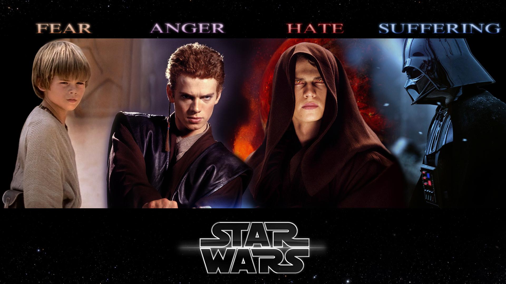 Anakin Skywalker Darth Vader Shadow